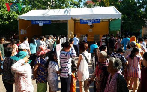 Campuchia bắt đầu bỏ phiếu bầu cử Hội đồng xã, phường nhiệm kỳ 4 - ảnh 1