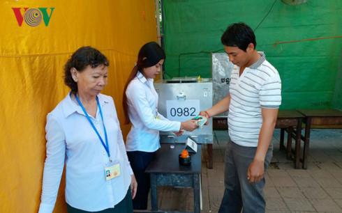 Campuchia bắt đầu bỏ phiếu bầu cử Hội đồng xã, phường nhiệm kỳ 4 - ảnh 2