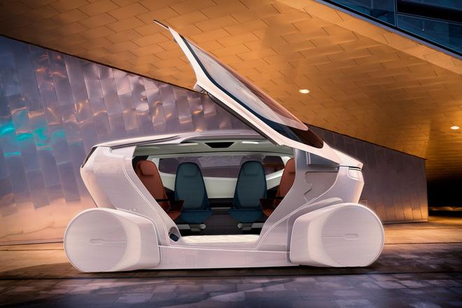 NEVS InMotion: xe tự lái kết hợp... văn phòng làm việc - Ảnh 1.