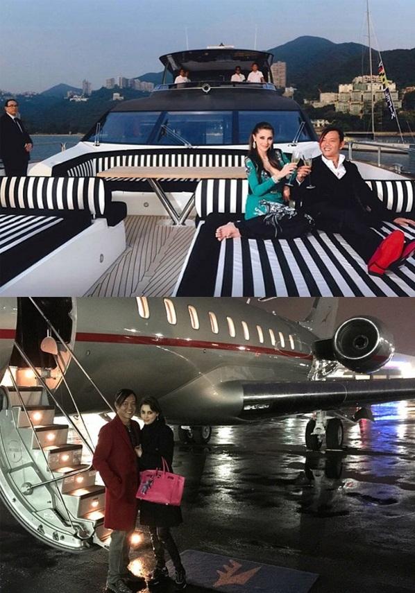 Cuộc sống xa hoa của chân dài kết hôn với tỷ phú xấu trai nhất Hong Kong - Ảnh 10.
