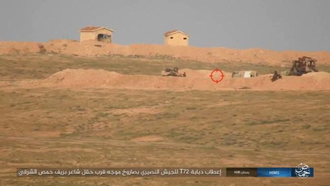 IS bắn tên lửa TOW đánh chặn quân đội Syria - ảnh 1