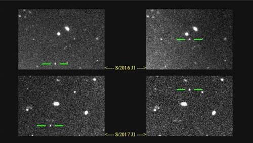 Phát hiện thêm 2 Mặt trăng quay quanh sao Mộc - Ảnh 1.
