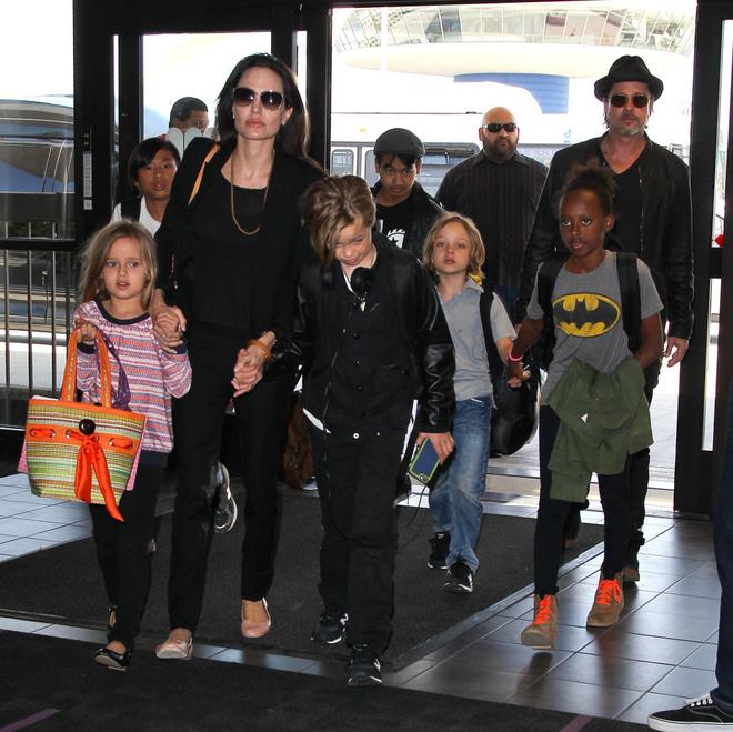 Brad Pitt vừa khóc vừa cầu xin các con tha thứ trong buổi trị liệu tâm lý - Ảnh 1.
