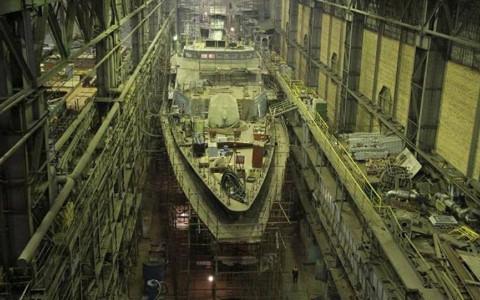 Nga sắp hạ thủy khinh hạm tàng hình Gremyashchy - Ảnh 1.