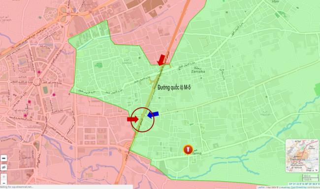 Quân đội Syria đối mặt phiến quân thiện chiến, cuồng tín - Ảnh 1.