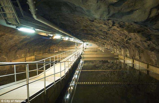 Đề phòng Nga, Phần Lan nâng cấp đường hầm bên dưới thủ đô - Ảnh 1.