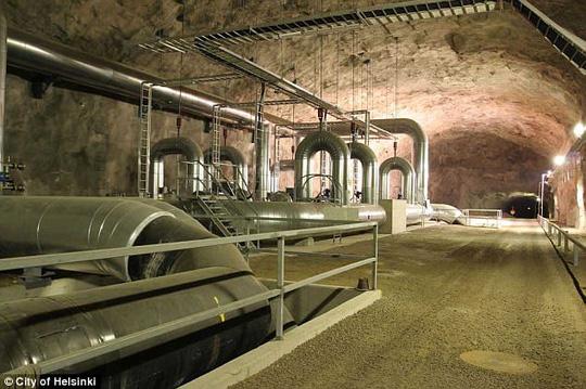 Đề phòng Nga, Phần Lan nâng cấp đường hầm bên dưới thủ đô - ảnh 2