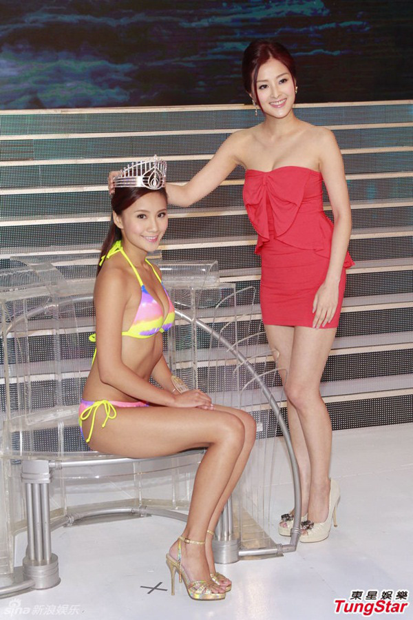 Hoa hậu thị phi nhất Hong Kong: Lộ ảnh nhạy cảm với bạn trai, bị tố là gái bao, vay nặng lãi - Ảnh 2.