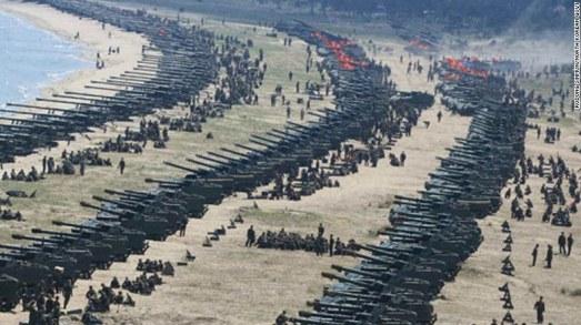 Nếu xảy ra, chiến tranh giữa Mỹ và Triều Tiên sẽ như thế nào? - Ảnh 1.