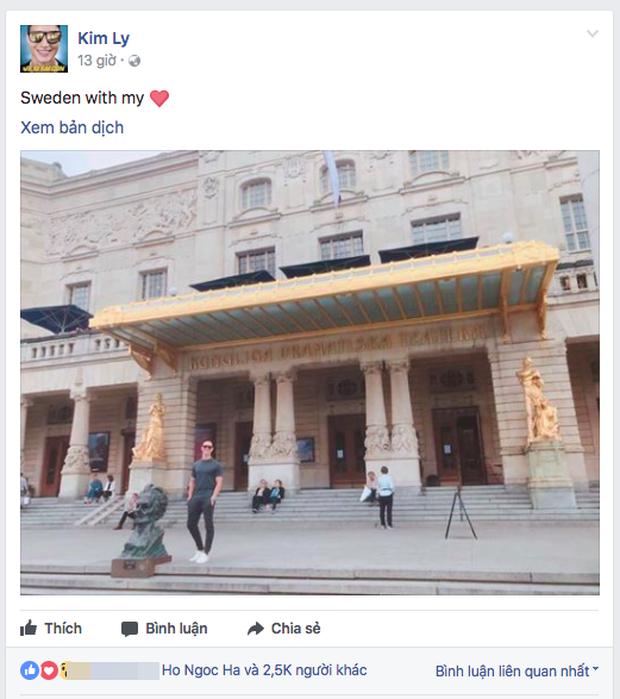 Cùng đăng ảnh check in Thuỵ Điển với những lời bóng gió, Kim Lý và Hà Hồ tiếp tục khiến fan nghi ngờ chuyện tình cảm - Ảnh 1.