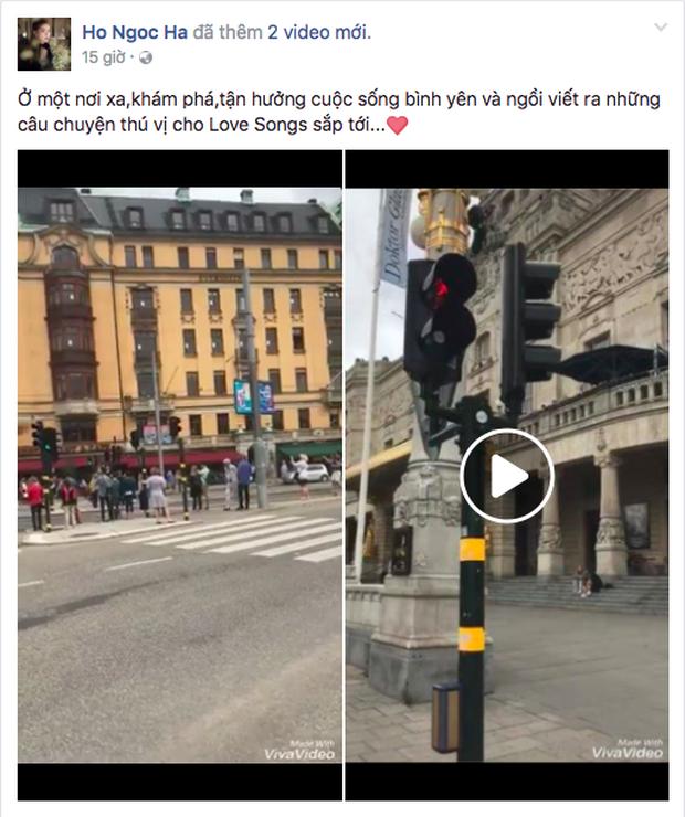 Cùng đăng ảnh check in Thuỵ Điển với những lời bóng gió, Kim Lý và Hà Hồ tiếp tục khiến fan nghi ngờ chuyện tình cảm - Ảnh 2.