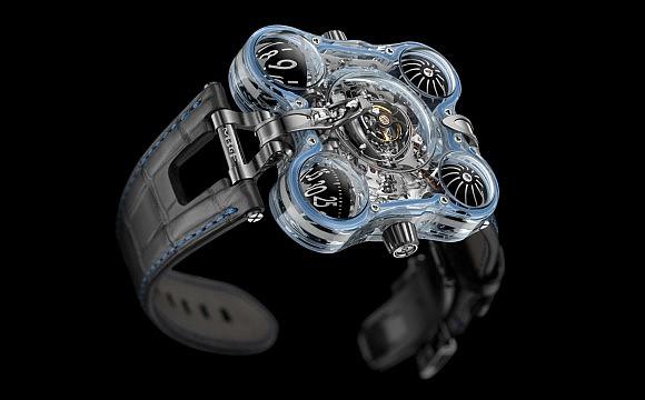 Cận cảnh siêu đồng hồ người ngoài hành tinh siêu dị trị giá hơn 11 tỉ, thế giới chỉ có 4 chiếc - Ảnh 1.