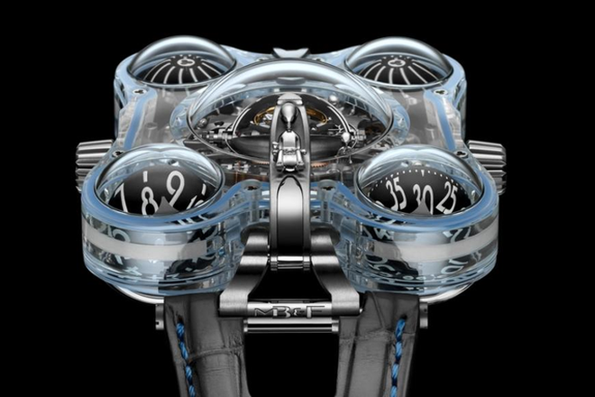 Cận cảnh siêu đồng hồ người ngoài hành tinh siêu dị trị giá hơn 11 tỉ, thế giới chỉ có 4 chiếc - Ảnh 2.