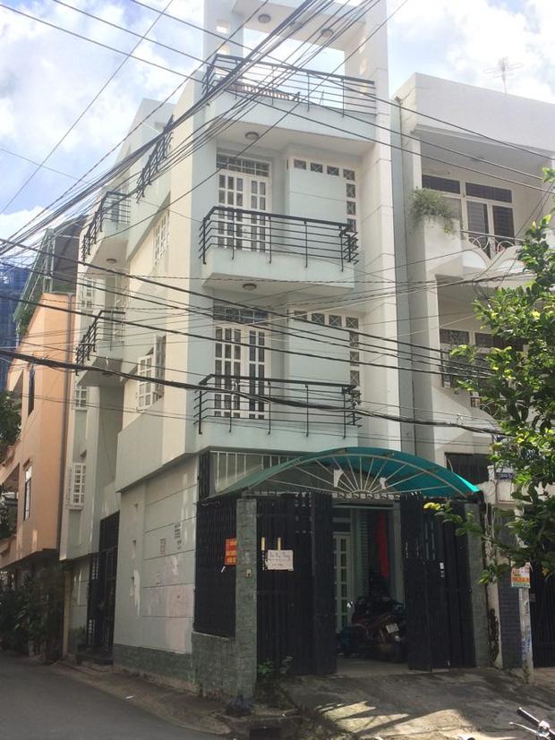 Căn nhà tại địa chỉ 125/41 đường D1 (phường 25, quận Bình Thạnh, TP. HCM).