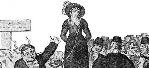 """Có thể bạn chưa biết: Người Anh đã từng phải """"bán vợ"""" để chấm dứt hôn nhân vì li dị quá tốn tiền"""