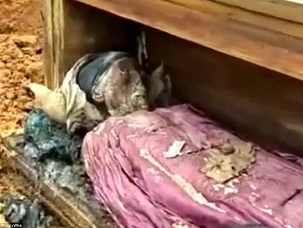 Sau vài trăm năm, xác ướp một quý tộc Trung Quốc vẫn được bảo quản nguyên vẹn đến khó tin - Ảnh 2.