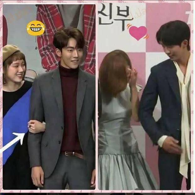 Sự thật đằng sau loạt ảnh Nam Joo Hyuk o bế mỹ nhân mặt đơ, bơ đẹp bạn gái cũ Lee Sung Kyung - Ảnh 2.