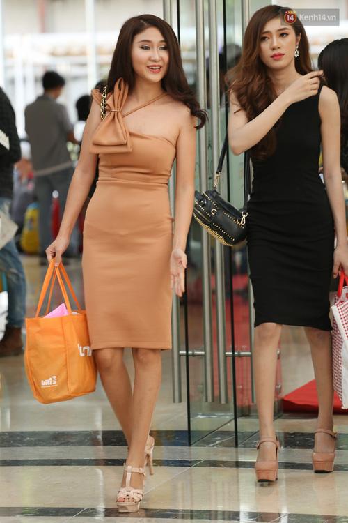 Ngỡ ngàng trước nhan sắc của nhiều thí sinh tham gia Hoa hậu Hoàn vũ miền Nam - Ảnh 1.