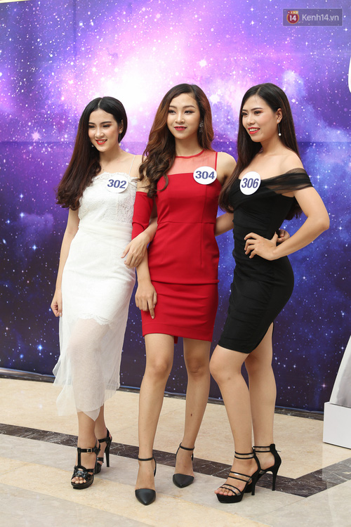 Ngỡ ngàng trước nhan sắc của nhiều thí sinh tham gia Hoa hậu Hoàn vũ miền Nam - Ảnh 2.