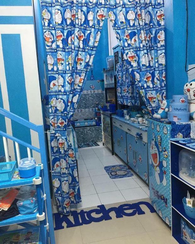 Đây là căn nhà khi hai vợ chồng đều là fan cuồng của mèo ú Doraemon cùng về sống chung! - Ảnh 1.