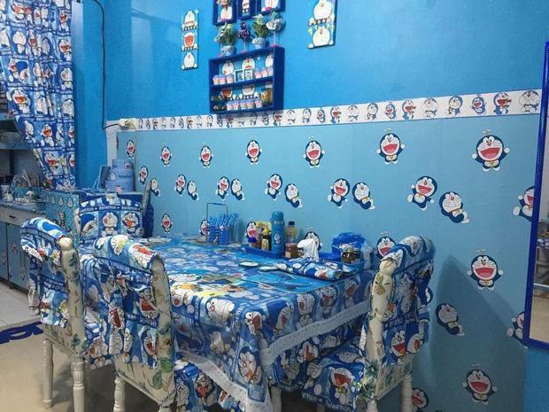Đây là căn nhà khi hai vợ chồng đều là fan cuồng của mèo ú Doraemon cùng về sống chung! - Ảnh 2.