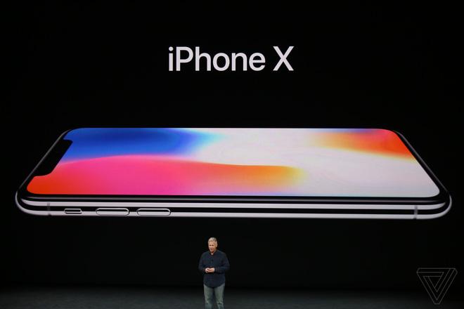 Đây là iPhone X: Giá từ 1000 USD, thiết kế toàn màn hình, loại bỏ nút Home và Touch ID, nhận diện khuôn mặt Face ID, màn hình Super Retina Display - Ảnh 1.