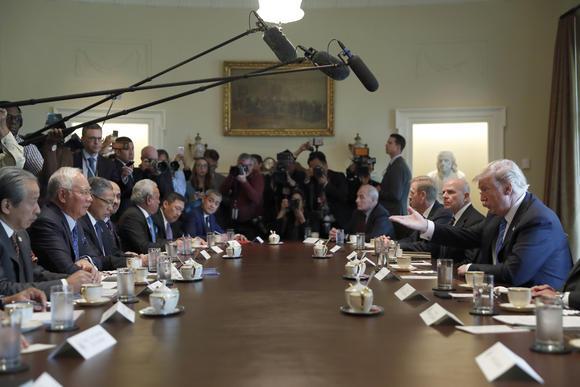 Chuyến thăm Mỹ kỳ lạ của thủ tướng Malaysia - Ảnh 1.