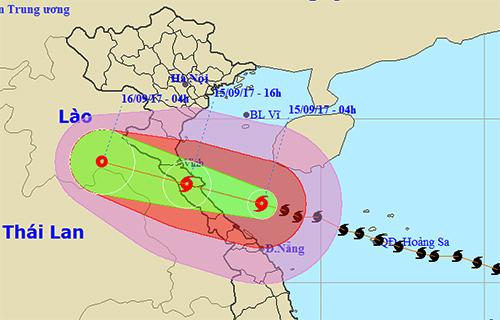 7 người thương vong ở Quảng Bình, 2 tàu chìm ở Quảng Ninh, Nghệ An - Hà Tĩnh tan hoang sau bão - Ảnh 1.