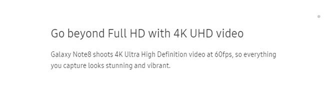 Samsung khẳng định sẽ tung ra bản cập nhật cho Galaxy Note8 hỗ trợ quay video định dạng 4K 60 fps - Ảnh 2.