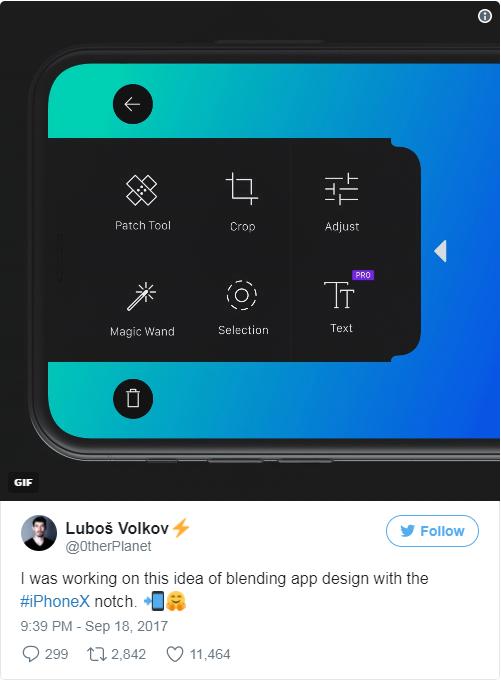 Đây mới gọi là thông minh: Một nhà thiết kế chứng minh rằng cái rãnh trên iPhone X hoàn toàn hữu ích - Ảnh 2.