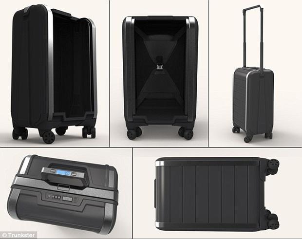 Có ai tò mò: vali đắt nhất, thông minh nhất thế giới và vali thường khác nhau chỗ nào không? - Ảnh 1.