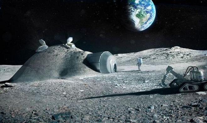 ESA: Hàng trăm người có thể sống trên Làng Mặt trăng trước năm 2040 - Ảnh 1.