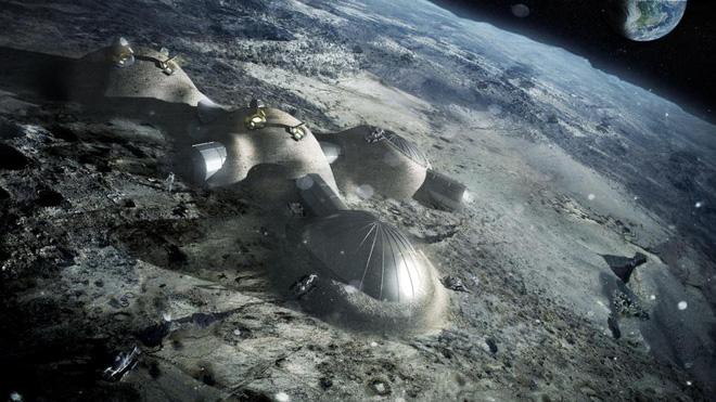 ESA: Hàng trăm người có thể sống trên Làng Mặt trăng trước năm 2040 - Ảnh 2.