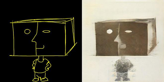 Trí tuệ nhân tạo đã có khả năng biến các nét vẽ nguệch ngoạc thành kiệt tác nghệ thuật - Ảnh 1.