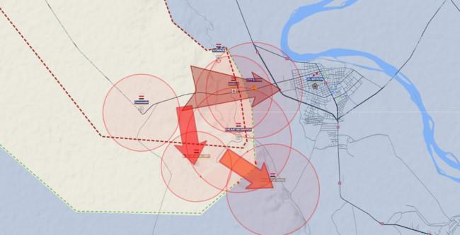 Quân đội Syria sắp tung đòn chiếm thành trì IS ở tỉnh Deir Ezzor - Ảnh 1.