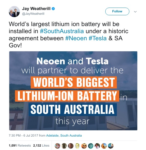 Tất tần tật về nhà máy trữ điện bằng pin lithium-ion lớn nhất thế giới của Tesla - Ảnh 2.