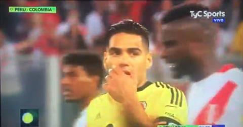 SỐC! Falcao thừa nhận có liên quan ở vụ bị tố dàn xếp kết quả trận Peru - Colombia - Ảnh 1.