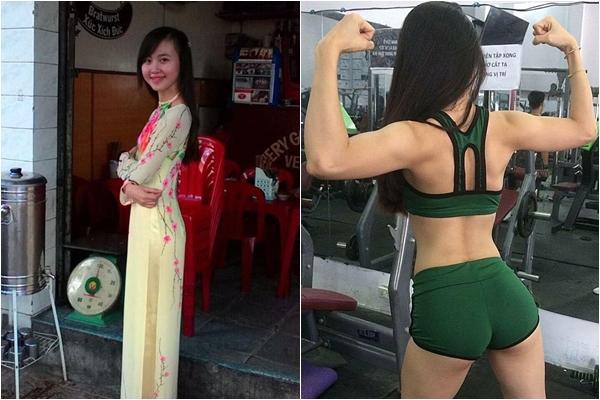 Vượt qua tuổi thơ bị ghẻ lạnh, lớn lên trong xóm ổ chuột, cô gái Nha Trang lột xác thành hot girl phòng gym - Ảnh 2.