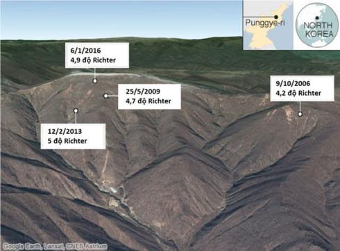 Động đất gần bãi thử hạt nhân của Triều Tiên - Ảnh 1.