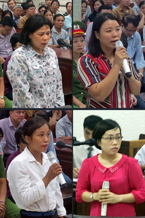 """Những nữ """"trợ thủ"""" hầu tòa cùng Châu Thị Thu Nga - Ảnh 1."""