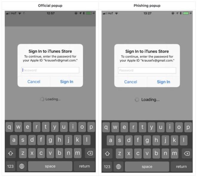 Hacker giả mạo box đăng nhập trên iOS để lấy cắp mật khẩu - thủ đoạn mới cực kỳ tinh vi - Ảnh 2.