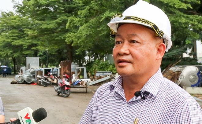 Đường Nguyễn Hữu Cảnh ngập sâu, ông chủ siêu bơm nghi có hành động phá hoại - Ảnh 1.