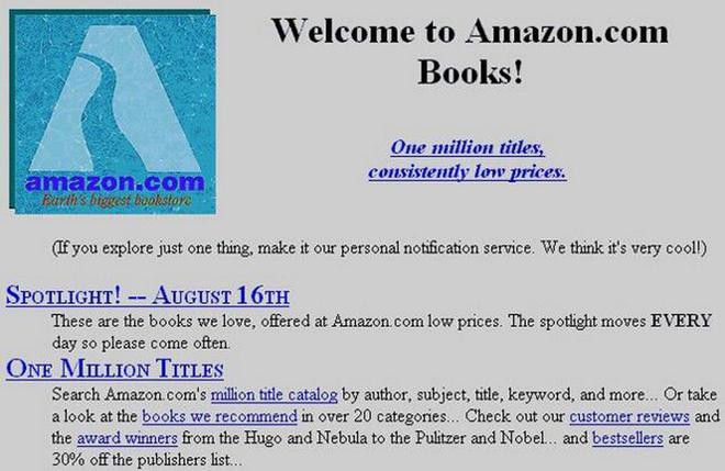 So sánh giao diện của những website nổi tiếng: Ngày xưa và bây giờ - Ảnh 1.