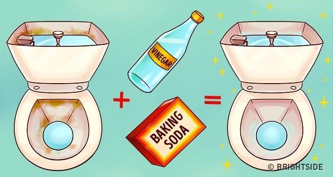 Đổ giấm vào thùng chứa nước bồn cầu, kết quả sẽ khiến bạn bất ngờ - Ảnh 1.