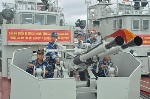 Lữ đoàn 127 (Vùng 5 Hải quân): Chú trọng huấn luyện kỹ năng thực hành cho bộ đội - Ảnh 1.