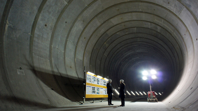 Giải mật cống ngầm lớn nhất thế giới ở Nhật, siêu bão mưa 3 ngày liền cũng không ngập - Ảnh 8.