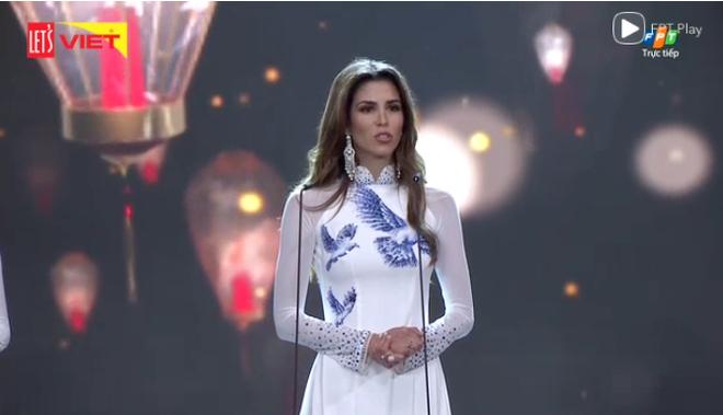 [TRỰC TIẾP] Chung kết Hoa hậu Hòa bình Quốc tế 2017 tại VN: Sốc khi Á hậu Huyền My bất ngờ trượt khỏi Top 5 - Ảnh 8.