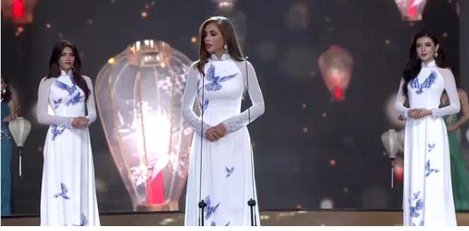 [TRỰC TIẾP] Chung kết Hoa hậu Hòa bình Quốc tế 2017 tại VN: Sốc khi Á hậu Huyền My bất ngờ trượt khỏi Top 5 - Ảnh 9.