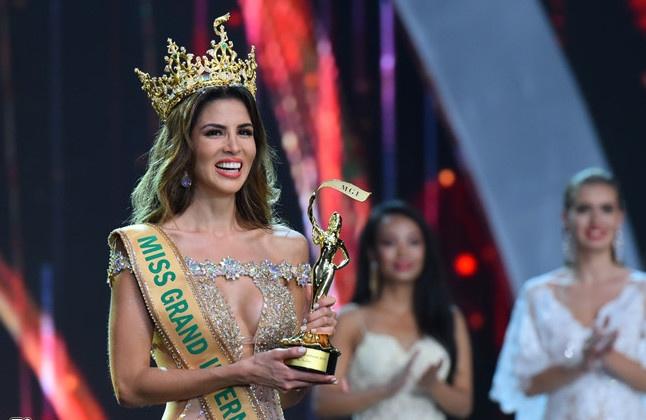 Maria Jose Lora - cái tên được nhắc đến nhiều nhất sau đêm chung kết Miss Grand International 2017 - Ảnh 1.