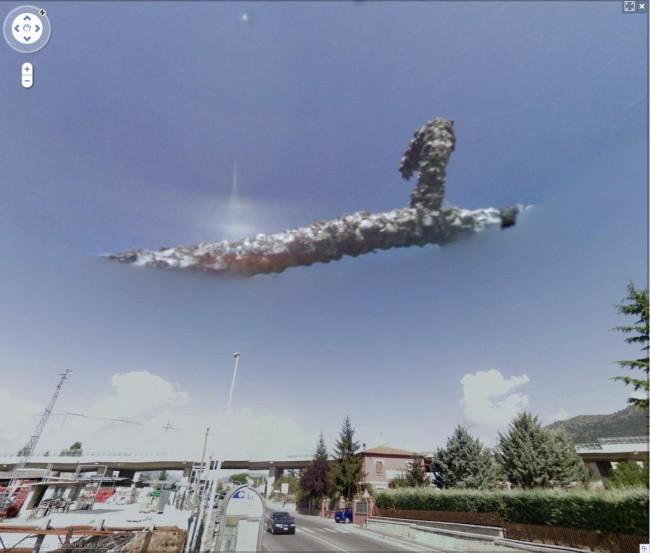 Những cảnh tượng bí ẩn vô tình lọt vào tầm ngắm của Google Earth - Ảnh 4.